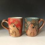 Mugs by Clay By Nature Pottery