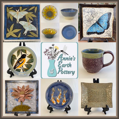 Pottery Online Show-Annies Earth Pottery