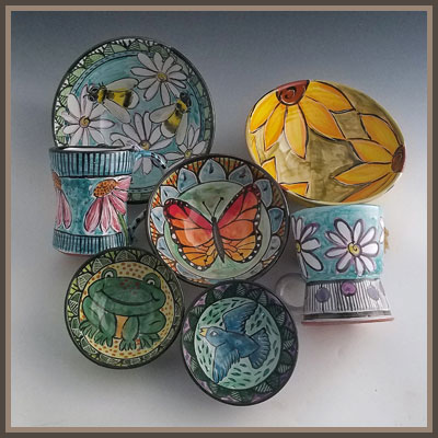 Pottery Online Show-Clay Lick Creek Pottery