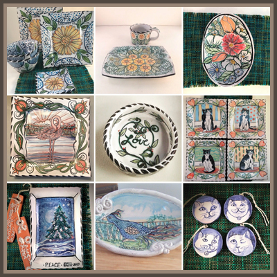 Pottery Online Show-Majoleeka Pottery