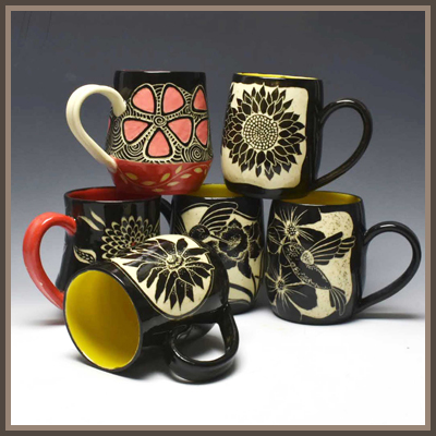 Pottery Online Show-Yellow Cottage Studios