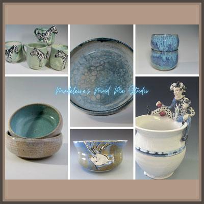 Pottery Online Show-Madeleine's Mud Pie Studio