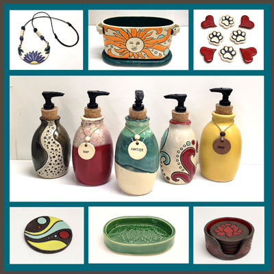 Pottery Online Show-White Wolf Pottery